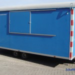 polyester dak bouwwagen