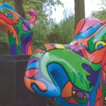 polyester kunst sculptuur